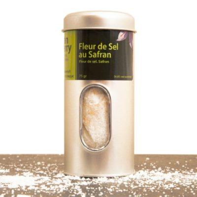 Fleur de sel au safran 75g
