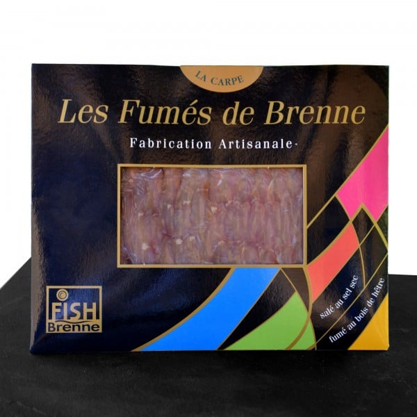 Filets de carpe fumée