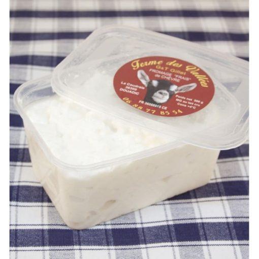 Fromage blanc de chèvre fermier