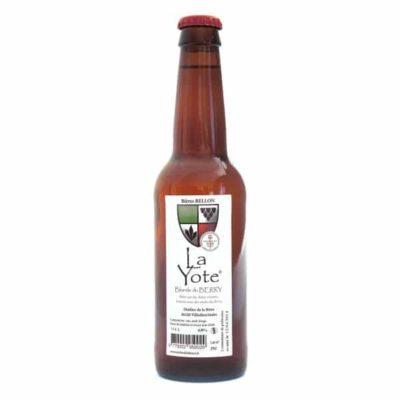 Bière blonde La Yote
