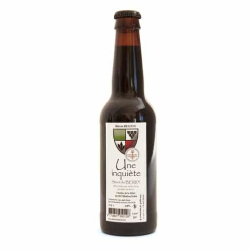 Bière noire Une inquiète