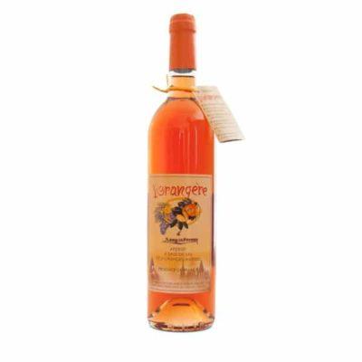 Vin d'apéritif à l'orange amère l'Orangère