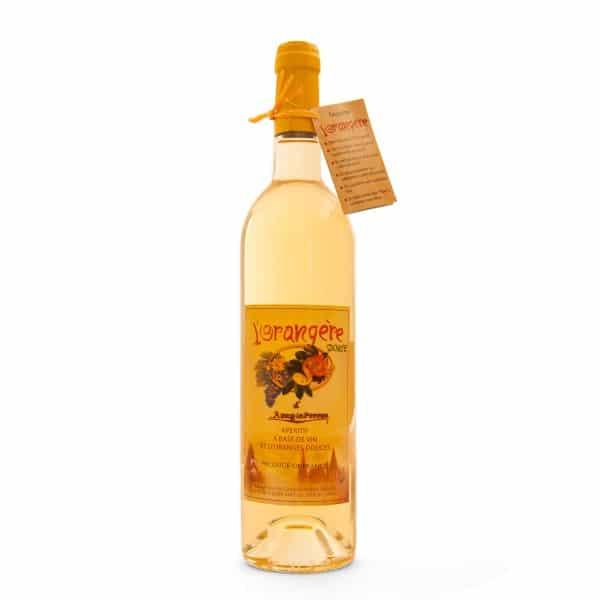 Duo de vin d'apéritif l'Orangère