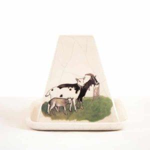 Protège Pouligny chèvres