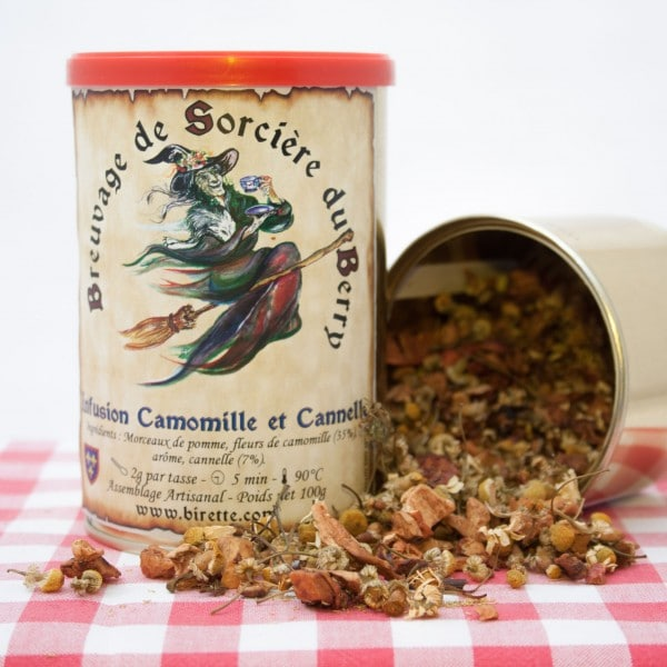 infusion camomille cannelle