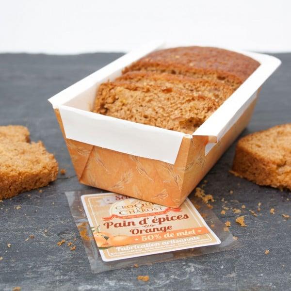 pain d'épices orange