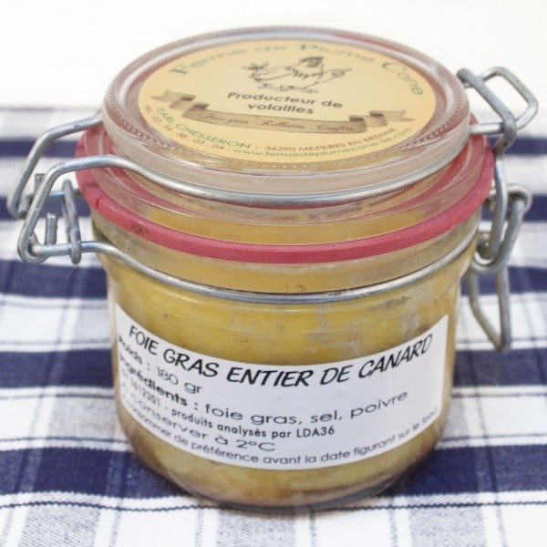 foie gras entier de canard 180g