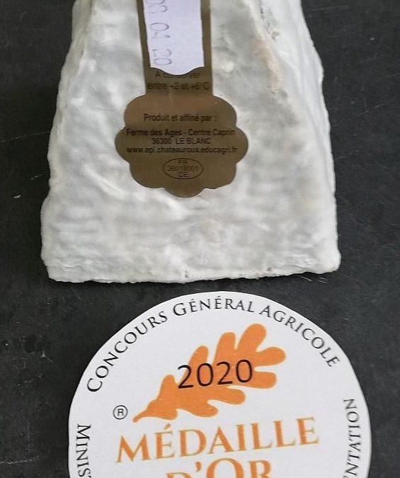 3 Médailles au concours général agricole 2020 pour le Pouligny Saint Pierre