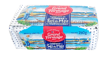 Beurre aux cristaux de sel de Noirmoutier