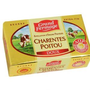 Beurre doux AOP Grand fermage