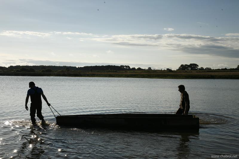 Barques & Pêcheurs de carpes en Brenne