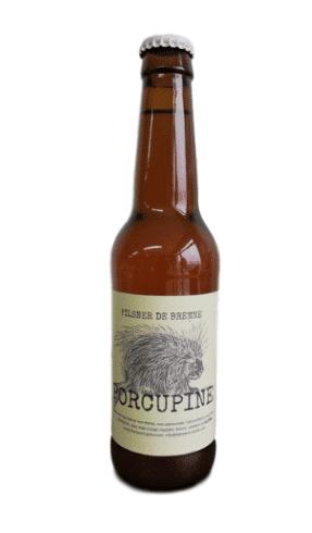 Bière blonde porcupine
