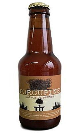 Bière blonde saison de Brenne Porcupine
