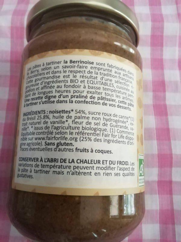 Pâte à tartiner La Praliné