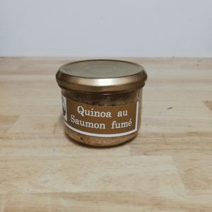 Quinoa au saumon fumé