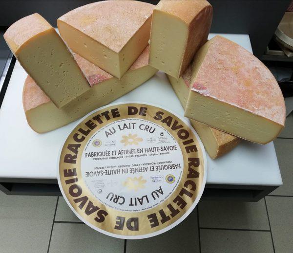 Raclette de Savoie au lait cru +ou- 250g