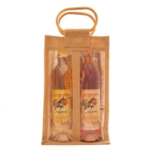 Photo de lot de 2 bouteilles d'apéritif l'Orangère