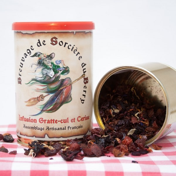 Photo de tisane de Gratte cul et cerise